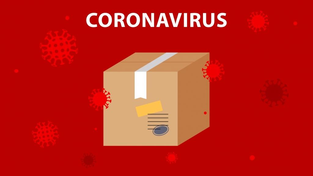 Corona Virus Parcel
